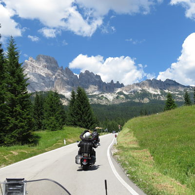 Voyage moto grand tour des alpes et des grands lacs italiens