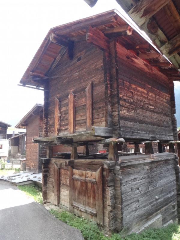 détail d'une maison ancienne en autriche