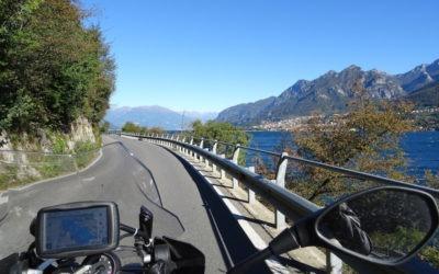 Tour des grands lacs italiens à moto
