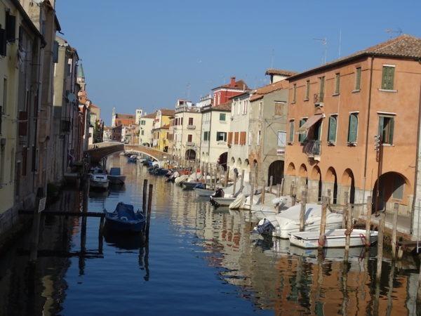 Gondole à Chioggia
