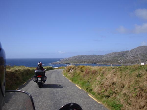 Balade moto en Irlande