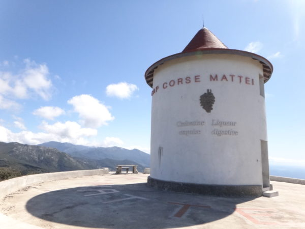 Balade moto au moulin Mattei
