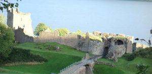 Urquart Castle sur le Loch Ness