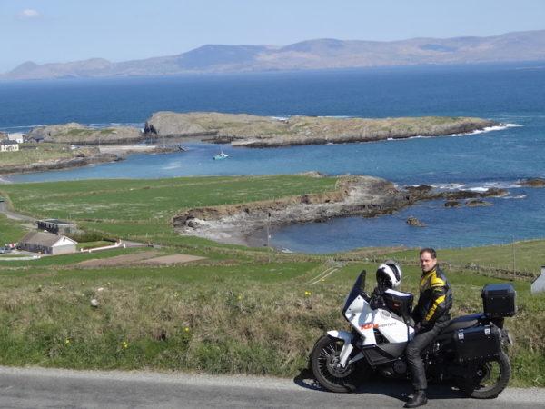 Voyage moto dans le Connemara