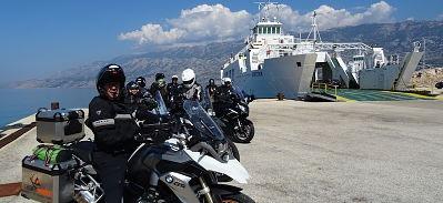 Ferry pour l'île de Pag