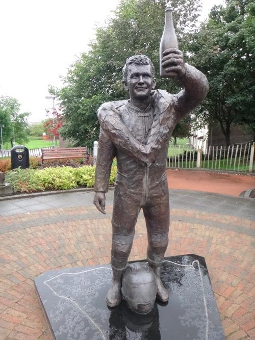 statue robert dunlop North West 200
