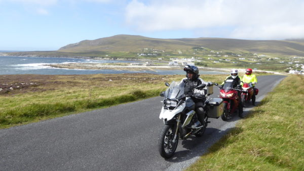 Wild atlantic way à moto