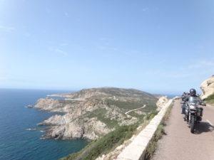 Corse du sud à moto