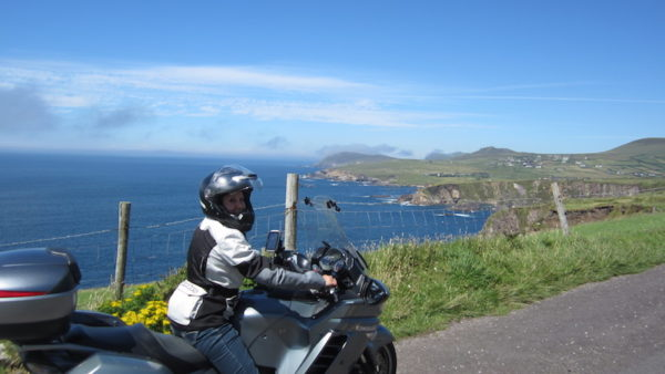 Ballade moto sur la Wild atlantic way