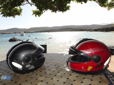 Casques de moto en Corse