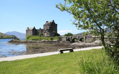 Tour de l'Écosse à moto