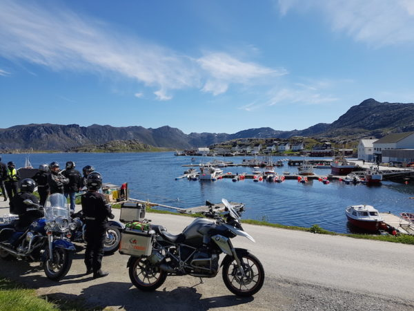 Gjeswaer en Norvege à moto
