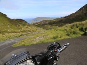 Grand tour de l'Irlande à moto