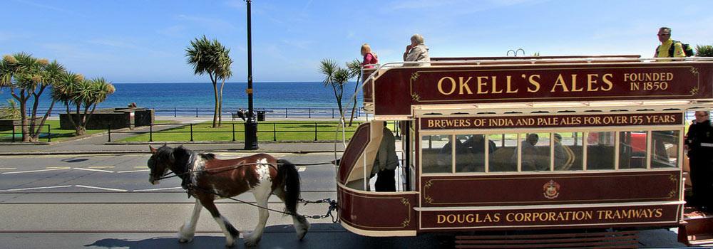 Tram tiré par un cheval