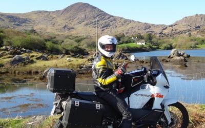 Tour de l'Irlande à moto