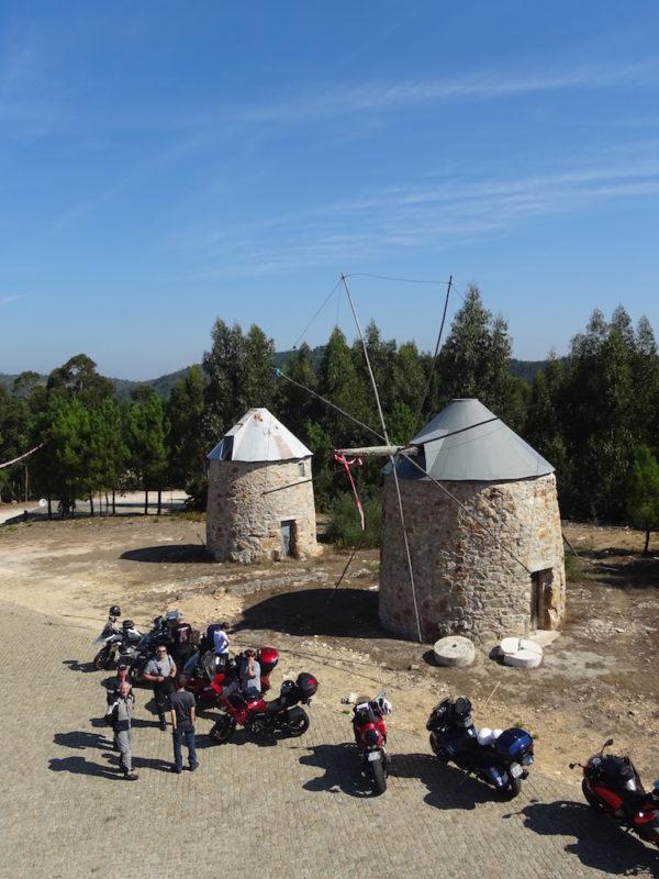 les moulins du portugal