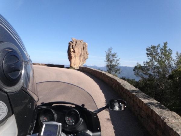 Découverte de la Corse en moto
