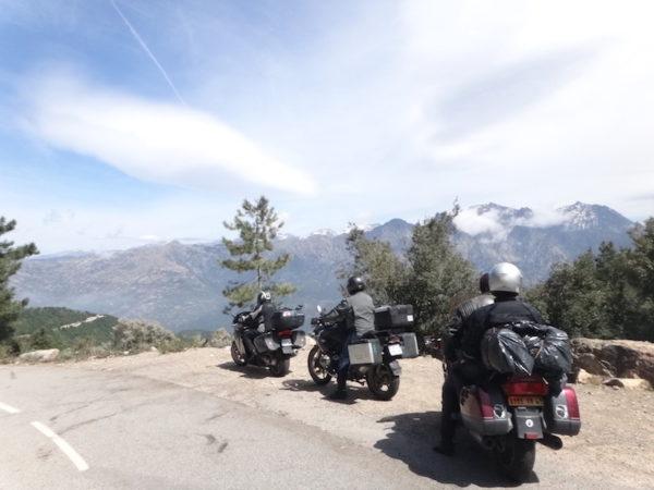 Découverte de la montagne Corse à moto