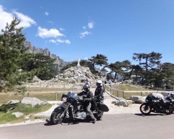 Col de Bavella lors d'un voyage moto