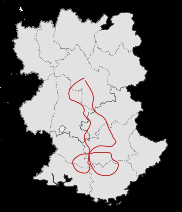 Luberon et villages provençaux à moto