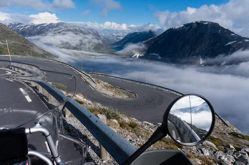 Fjord au cap nord