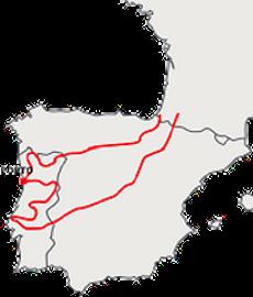 Escapade Espagne et Portugal à moto