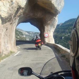 Gorges de la Nesque à moto