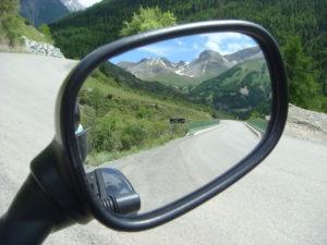 Liaison route Napoleon et Mont Ventoux