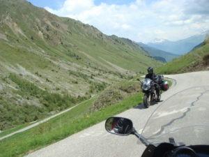 Découverte des Alpes à moto
