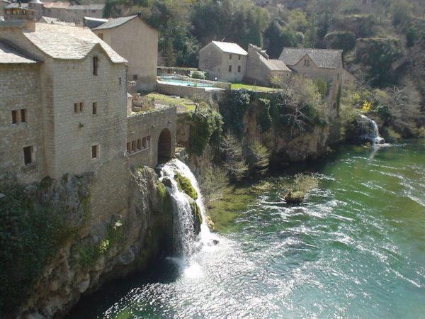 Saint Chely du Tarn , voyage moto