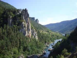 Les basses gorges du Tarn