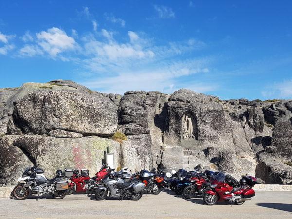 Arrêt insolite lors d'un voyage moto au Portugal