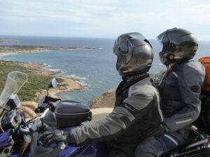 Tour de Sardaigne à moto via la Corse