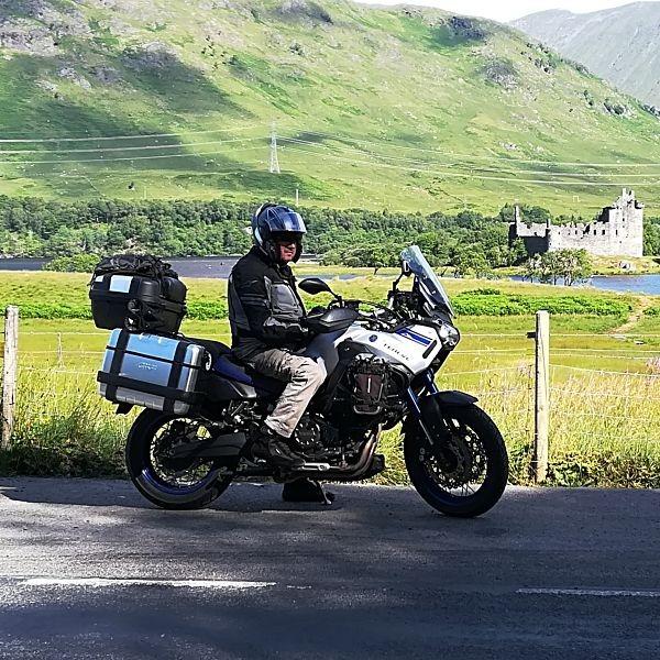 témoignage de France et Yves sur leur voyage moto en Ecosse