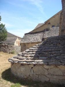 Ancien villages dans les Causses
