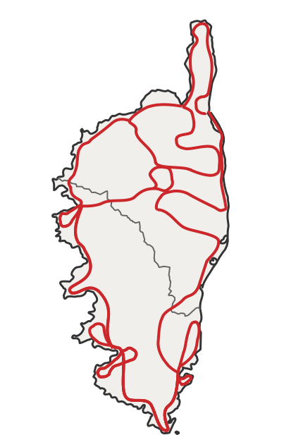 Circuit Corse, les plages en plus