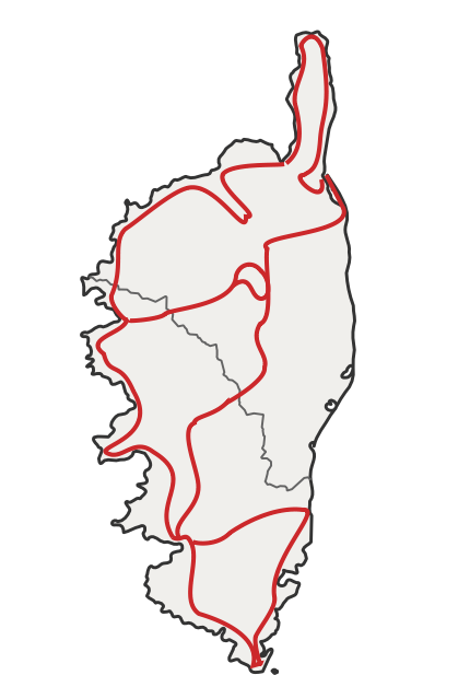 Circuit tour de Corse