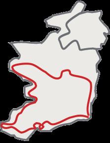 Circuit moto Irlande su sud