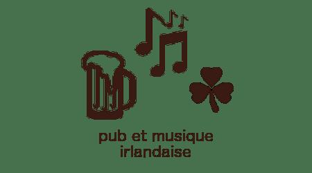 picto pub et musique irlandaise