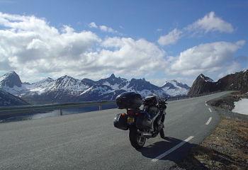 Choisir de voyager à moto