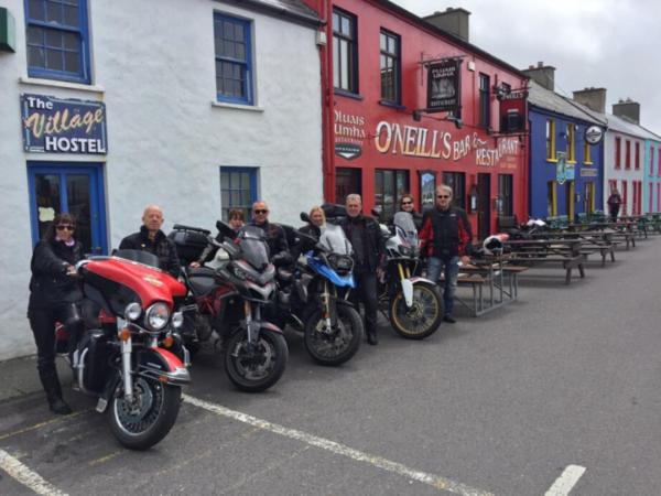 motards en Irlande