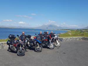 Escapade moto en Irlande