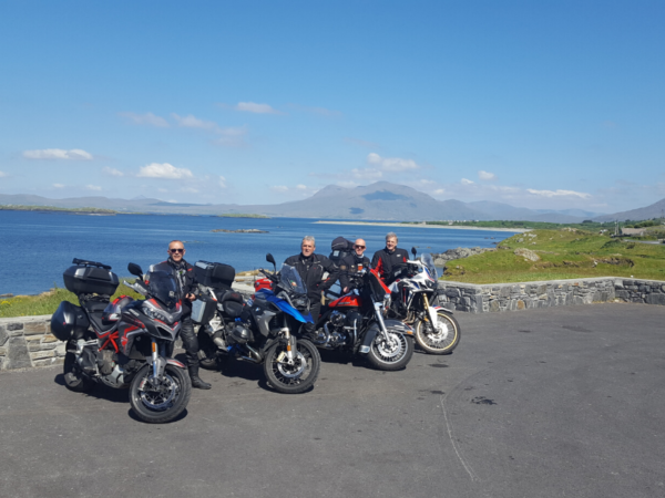 groupe moto en Irlande