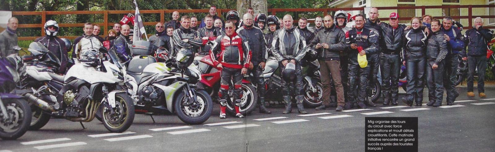 photo moto journal fabrice miguet ile de man 2014