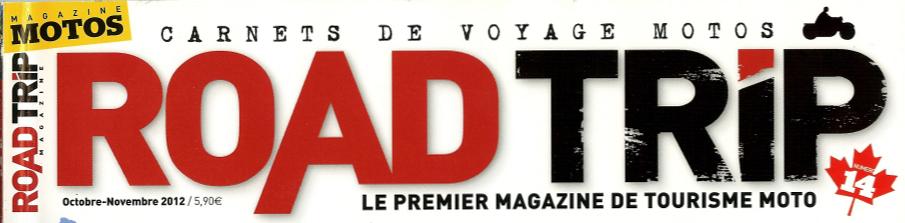 logo road trip le premier magazine de tourisme moto