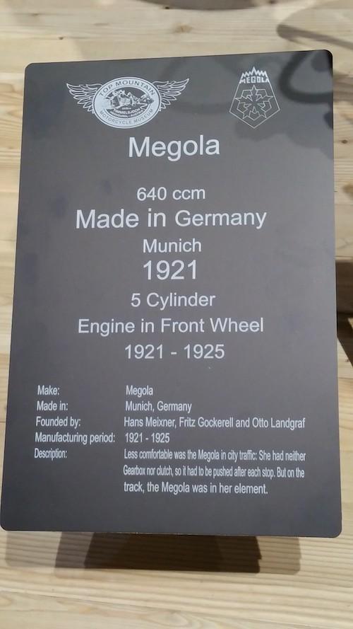carte d'identité de la megola