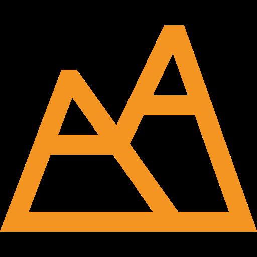 picto orange représentant une montagne pour illustrer l'altitude d'un site touristique