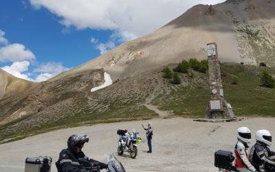 Route des grandes Alpes et cols alpins