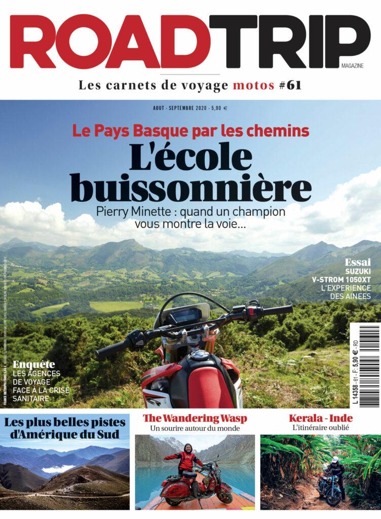 Couverture du magazine RoadTrip n°61