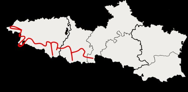 Carte pays basque et Hautes Pyrénées à moto